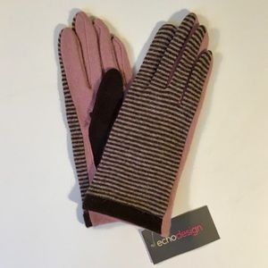 Echo cashmere blend gloves-NWT